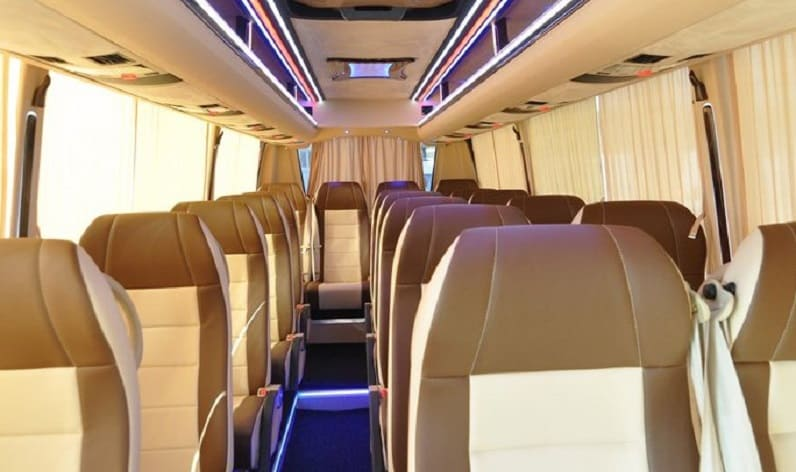 Thuringia: Coach reservation in Thuringia and Germany