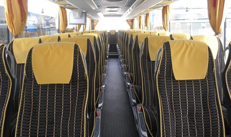 Thuringia: Coaches reservation in Thuringia and Germany
